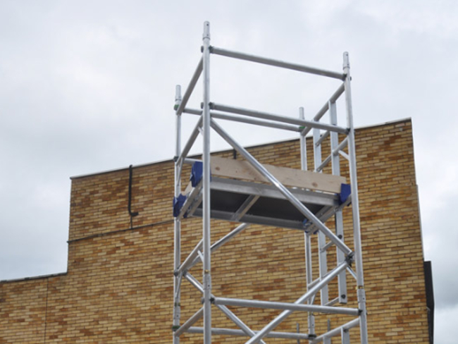 2m Scaffold Tower Extension