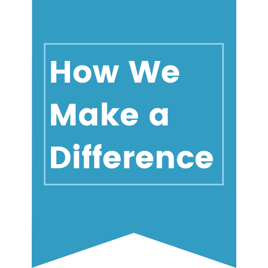 how we make a difference