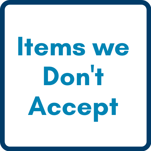 items we dont accept
