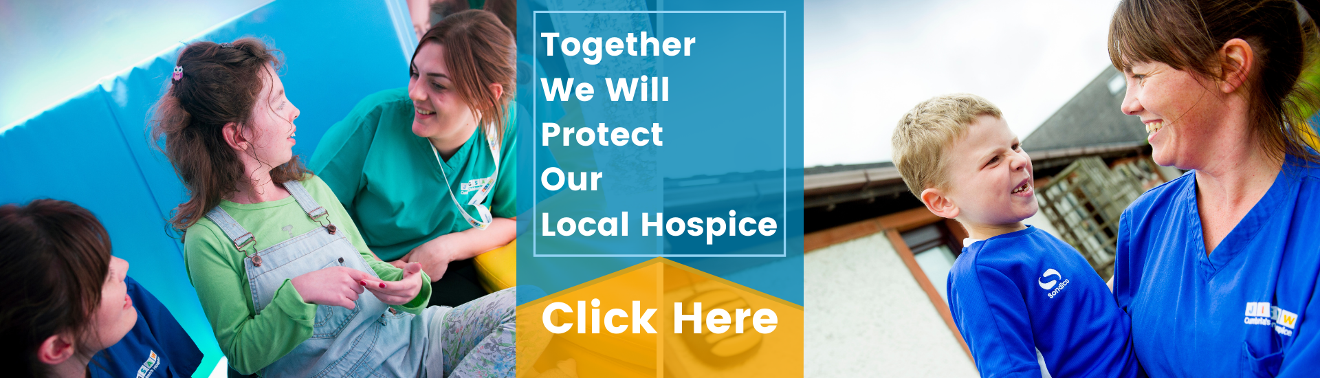 Together We'll Protect our Local Hospital - Click Here